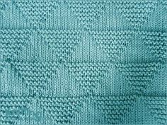 "hatandsandalsguy: "" podkins: "" Lovely stitch! How to knit the Stockinette and Garter Triangles "" Triforce Stitch!!! """