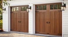 Faux, Fabulous and Green: Clopay® Garage Door Options Deliver the Realism and Beauty of Wood without the Upkeep