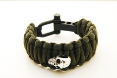 King Cobra 550 Paracord Bracelet with Stainless Steel by EchoSix, $17.00