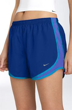 Blue and purple Nike Tempo Shorts Nike Tempo Shorts, Nike Running Shorts, Nike Shorts, Gym Shorts Womens, Running Shoes, Running Tips, Sport Shorts, Cute Gym Outfits, Nike Outfits