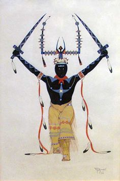 Apache Mountain Spirit Dancer