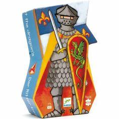 Puzzel 'de ridder en de draak' 36 st