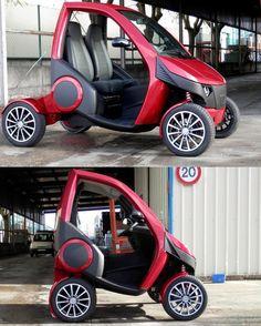 Foldable Electric Car