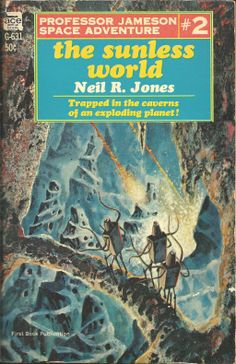 Gray Morrow cover artwork for The Sunless World