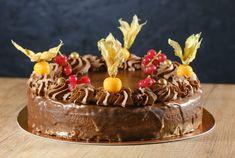 Sacher torta - recept | Varecha.sk Deserts, Cake, Food, Kuchen, Essen, Postres, Meals, Dessert, Torte