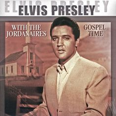 Elvis Presley Gospel Time on Import LP Limited edition vinyl import of Elvis Presley performance with the gospel quartet The Jordanaires. The group famously backed 'The King' from 1956 to 1972. Elvis