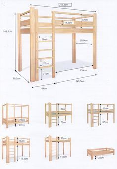 diy loft beds for small rooms ~ diy loft bed . diy loft bed for kids . diy loft bed for adults . diy loft beds for small rooms . diy loft bed for kids how to build . diy loft bed with desk . diy loft bed for kids boys Loft Beds For Small Rooms, Small Room Bedroom, Bedroom Loft, Trendy Bedroom, Bedroom Storage, Diy Bedroom, Build A Loft Bed, Loft Bed Plans, Diy Bed Loft