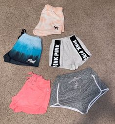 All brand new with out tags Size XS One price for all five Cute Swag Outfits, Pink Outfits, Sport Outfits, Victoria Secret Outfits, Victoria Secrets, Joggers Outfit, Cute Pajamas, Teen Fashion Outfits, Clothing Items