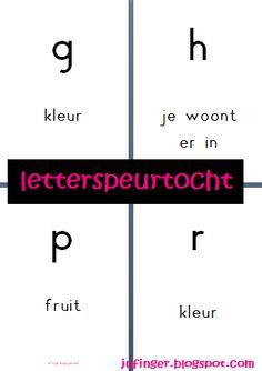 Juf Inger: Letterspeurtocht