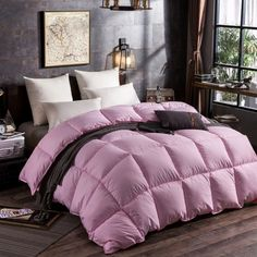 New Fashion All Cotton Original Goose Down Comforter Feather Quilt Goose Down King Size Duvet Size Full Winter Quilt Comforter Quilt with Cored Duck Feather Organic Duvet Covers, King Size Duvet, Winter Quilts, Down Comforter, Fabric Patterns, New Fashion, Comforters, Feather, The Originals
