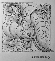 One Tangle : Day Eighty Five