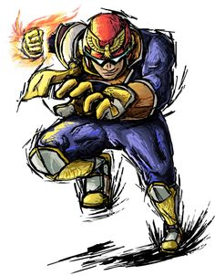 Smash Striker: Captain Falcon by Tails1000 on DeviantArt