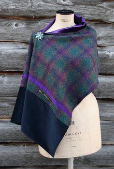 Harriet Hoot Bespoke Sapphire Wrap