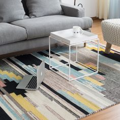 Cheap living room carpet, Buy Quality design carpet directly from China room carpet Suppliers: 100% Wool handmade Living room Carpet Geometric Indian blue Rug plaid striped Modern Parlor contemporary design Kilim Nordic Mat