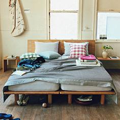 ベッド | 無印良品ネットストア | Bedroom | Pinterest | Bedrooms, Muji and Interiors