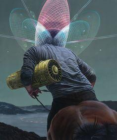 Jean-Pierre Roy Science Fiction Art Delight