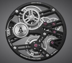 The Angelus A-300 Caliber  #angeluswatch #watchtime #watchmovement #watchnerd