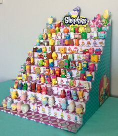 Shopkins Display Stand Bonus Gift 2 Season 2 by MadisonKateShop
