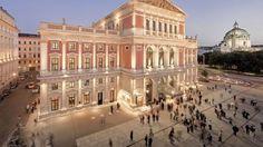 Musikverein Vienna where Hugo Gottesmann conducted prior to World War II.
