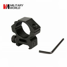 Find More Scope Mounts & Accessories Information about Outdoor Airsoft 25mm Low QD Scope Flashlight Ring Mount 20mm RIS Rail Military Gun/Rifle/Shotgun Laser Sight Mount Holder Base,High Quality flashlight bracket,China ring liquid Suppliers, Cheap flashlight mounting ring from Mlitary World Store on Aliexpress.com