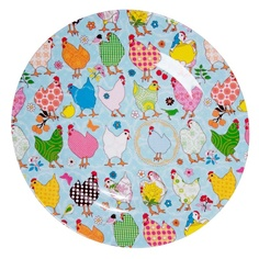 this plate pattern would make me happy at breakfast time Rice dk Melamine Two Tone Plates