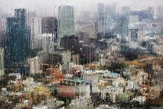 showers in Tokyo by Christophe Jacrot