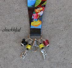 ID Lanyard Magic Minnie Mickey Mouse Style Disney by chuckhljal