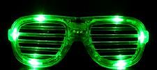 Flashing Shutter shades - Green.  Great fun to wear for a Halloween party or out trick or treating.