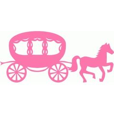 Silhouette Design Store - View Design #49085: horse and carriage