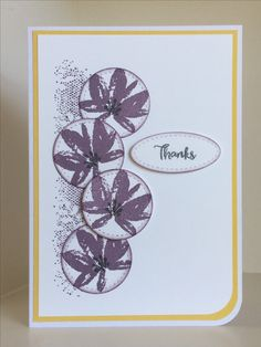 Stamps from Avant-Garden (Sale-a-Bration set) and Touches of Texture - created by Julia Jordan