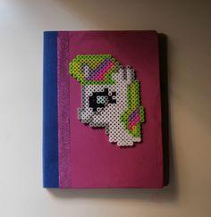 Cuaderno diy mi pequeño pony