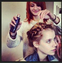 "Backstage της φωτογράφισης ""je t'aime un peu plus fort"" του Tickityflippinboo Magazine με προϊόντα styling μαλλιών PHYTO αποκλειστικά! Dreadlocks, Hair Styles, Beauty, Hair Plait Styles, Hairdos, Hair Looks, Cosmetology, Haircut Styles, Dreads"
