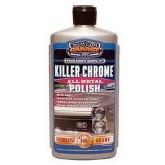 Amazon.com: Surf City Garage 139 Killer Chrome Perfect Polish - 16 oz.: Automotive