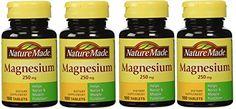 Magnesium Supplements, Pills, Natural, Food, Essen, Meals, Nature, Yemek, Eten