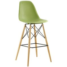 Bar Furniture Kind-Hearted Bar Stool Nordic Modern Minimalist Home Leisure Solid Wood High Stool Bar Stool Stool In Pain