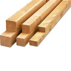 Rettenmeier Konstruktionsholz  (200 cm x 7 cm x 4,5 cm)