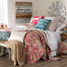 Teen western bedding