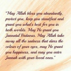 Muslim Birthday Wishes, Happy Birthday Wishes For Her, Birthday Prayer, Happy Birthday Quotes For Friends, Ispirational Quotes, Quran Quotes Love, Hindi Quotes, Lesson Quotes, Qoutes