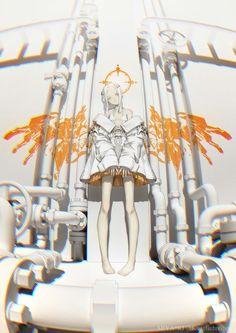 Anime Art Girl, Manga Art, Manga Anime, Anime Girls, Fantasy Kunst, Fantasy Art, Character Illustration, Illustration Art, Ange Demon