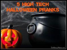 5 High Tech Halloween Prank Ideas from #BestBuyHalloween #sponsored