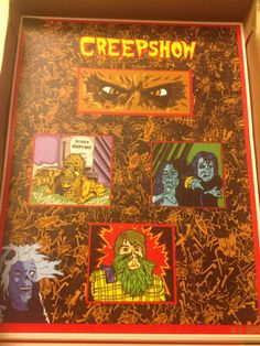 Who doesn't love this movie?! -Creepshow art print Limited Edition Signed and by CryptRottedBones, $12.00