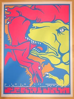 2000 Pearl Jam - Prague & Katowice Concert Poster by Ames Design AP