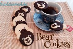 "Bear Cookies del Blog ""Brontolo in Pentola"" http://brontoloinpentola.wordpress.com/2014/04/10/bear-cookies/"