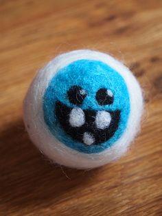 Yeti Needle Felted Dryer Ball