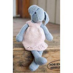 Lizzie Rabbit Free Knitting Pattern Download