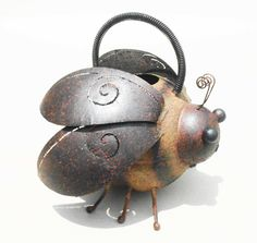 Iron Bee Watering Can