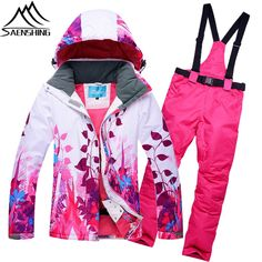 Outdoor Men&women Ski Pants Winter Profession Snowboard Pants Waterproof Windproof Snow Trousers Breathable Warm Ski Clothes Sports & Entertainment