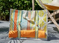 Creations - Artemio Diaper Bag, Creations, Couture, Simple, Beach Towel, Vacation, Stencils, Ribbons, High Fashion