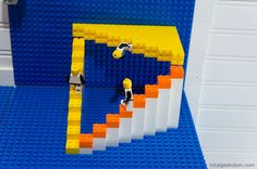 LEGO Bedroom Decor | DIY Vertical Lego Building Area On The Wall & Ceiling