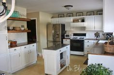 On Bliss Street: Upgraded Kitchen- So You Say You Want a New Kitchen? Come and Get it!
